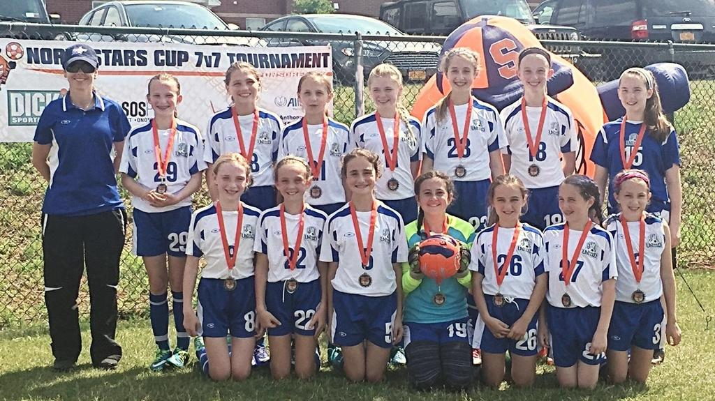 Congratulations girls on becoming the U12 NOrthstars Overall Tournament Champions!!