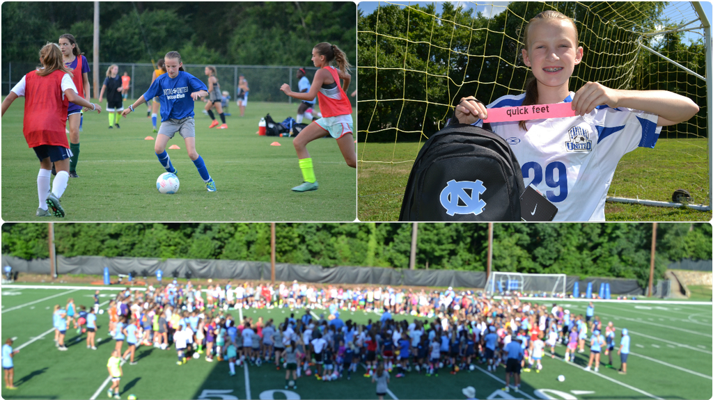 Congratulations Kelly for winning the Quick Feet Award at the UNC Chapel Hill Camp!  Kelly came in first place out of over 500 players across the nation!!