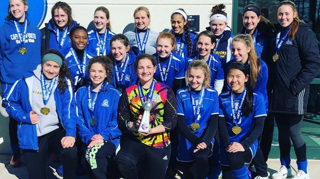 Congratulations Capital United Blue Flash U16 NEFC Tournament Champions!