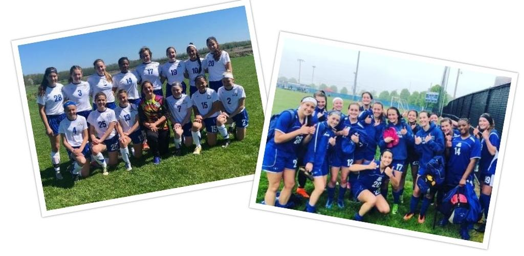 TWO USYSA National League Division 1 Champions!! Congrats to both the Blue Flash (THREE TIME CHAMPION!) and Blue Force teams on their success!!